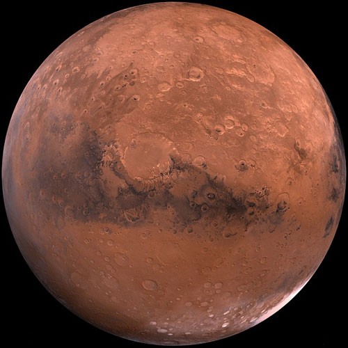 Weltall answer: MARS