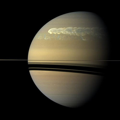 Weltall answer: SATURN