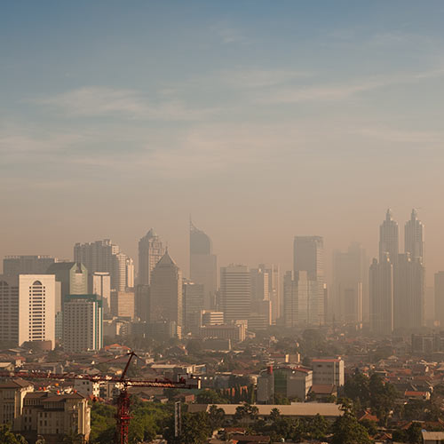 Wetter answer: SMOG