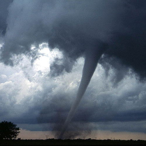 Wetter answer: TORNADO