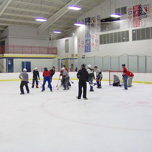 Wintersport answer: BROOMBALL