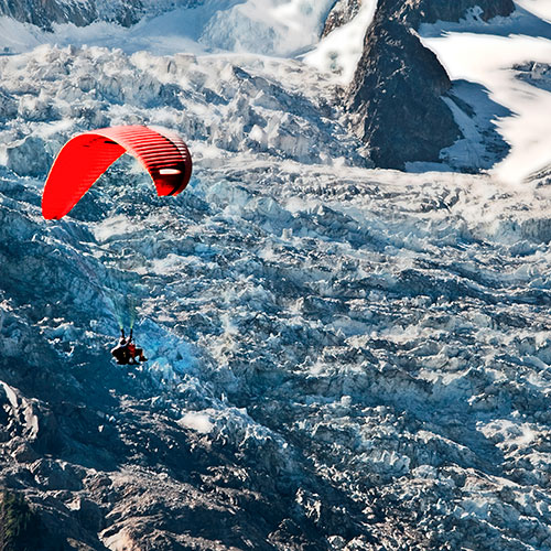 Wintersport answer: PARAGLIDING