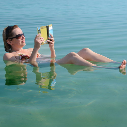 Wunschliste answer: FLOAT IN DEAD SEA