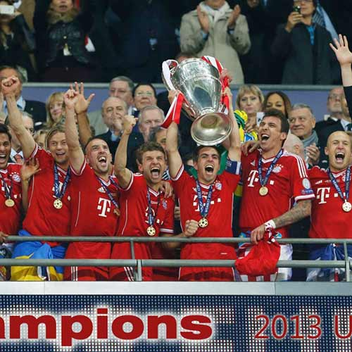 2013 Quiz answer: BAYERN MUNICH