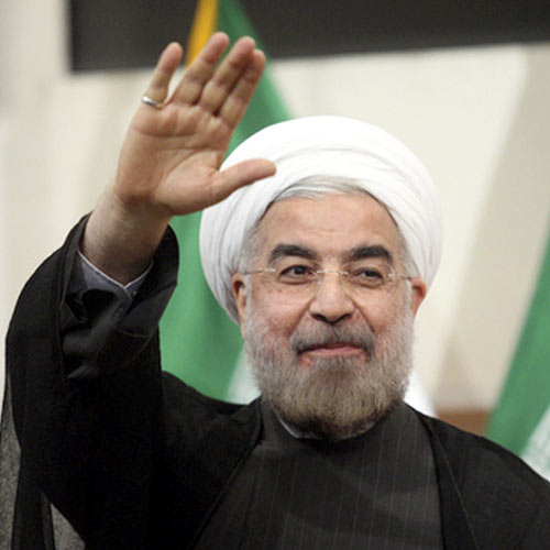 2013 Quiz answer: HASSAN ROUHANI