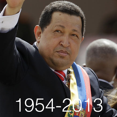 2013 Quiz answer: HUGO CHAVEZ
