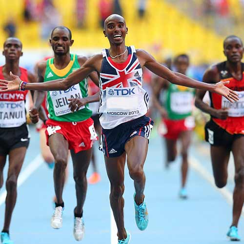 2013 Quiz answer: MO FARAH
