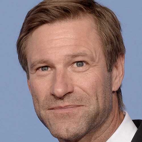 Actors answer: AARON ECKHART