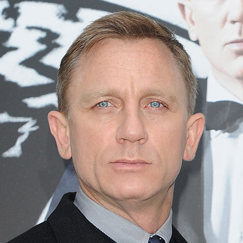 Actors answer: DANIEL CRAIG