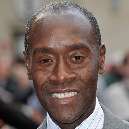 Actors answer: DON CHEADLE