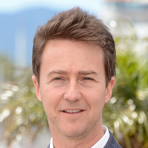 Actors answer: EDWARD NORTON