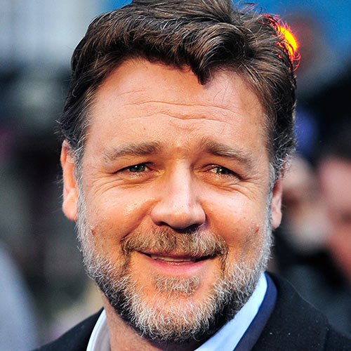 Actors answer: RUSSELL CROWE