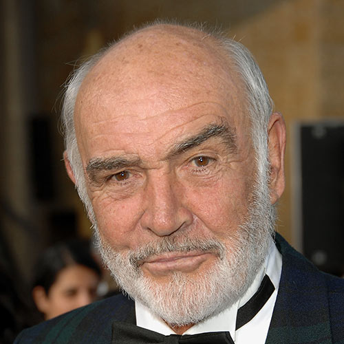 Actors answer: SEAN CONNERY
