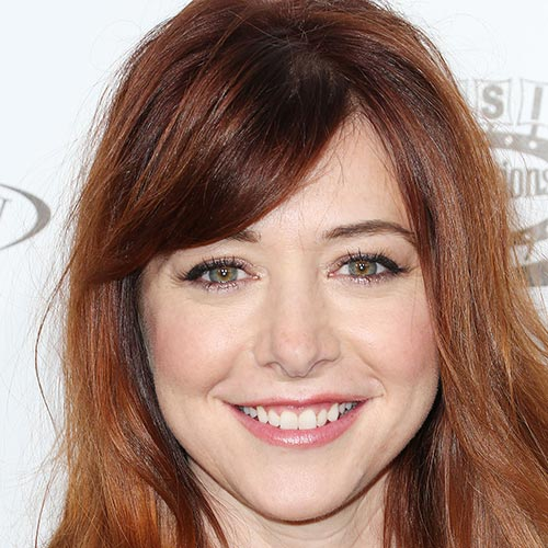 Actresses answer: ALYSON HANNIGAN