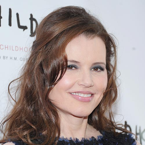 Actresses answer: GEENA DAVIS