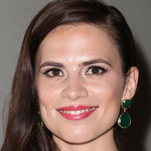 Actresses answer: HAYLEY ATWELL