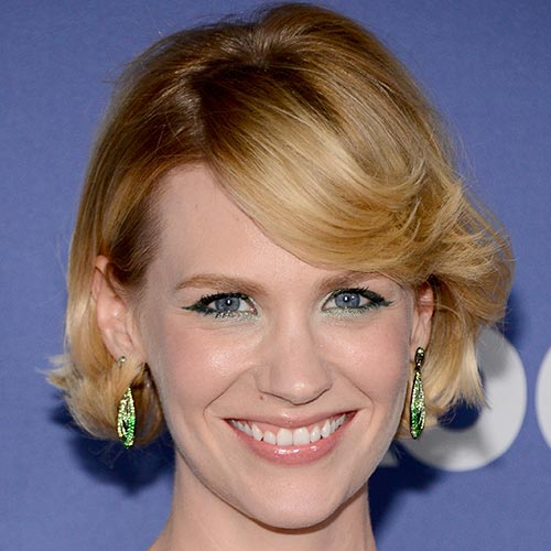 Actresses answer: JANUARY JONES