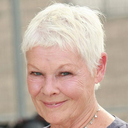 Actresses answer: JUDI DENCH