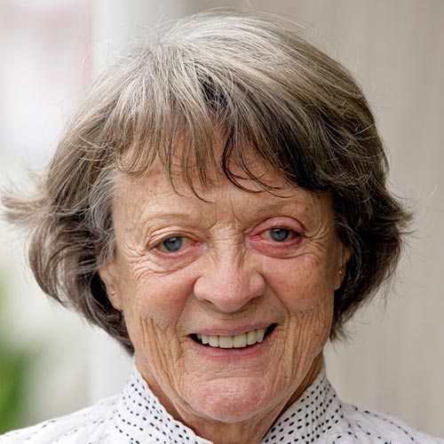 Actresses answer: MAGGIE SMITH