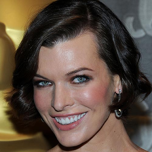 Actresses answer: MILLA JOVOVICH