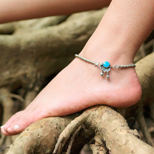 A is for... answer: ANKLET