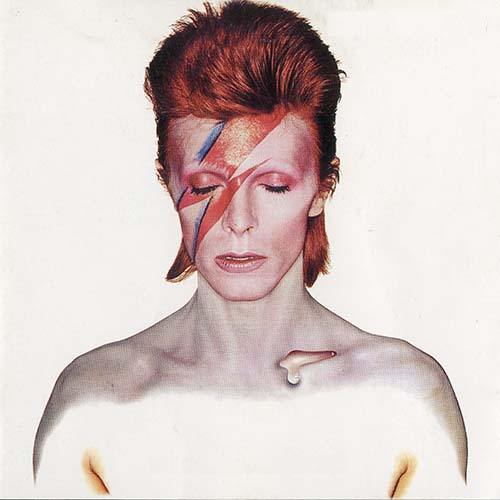 Album Covers answer: ALADDIN SANE