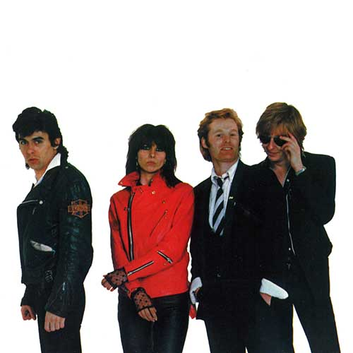 Album Covers answer: PRETENDERS