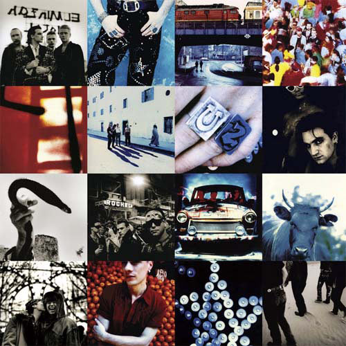 Album Covers answer: ACHTUNG BABY