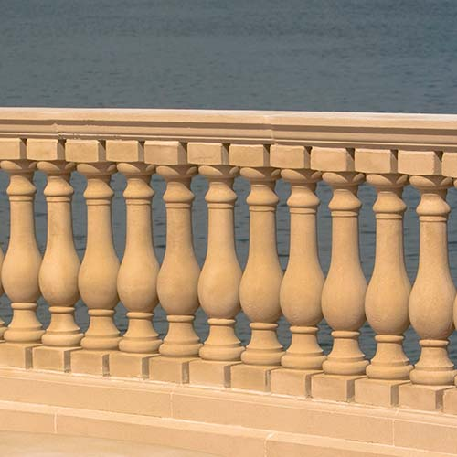 Architecture answer: BALUSTRADE