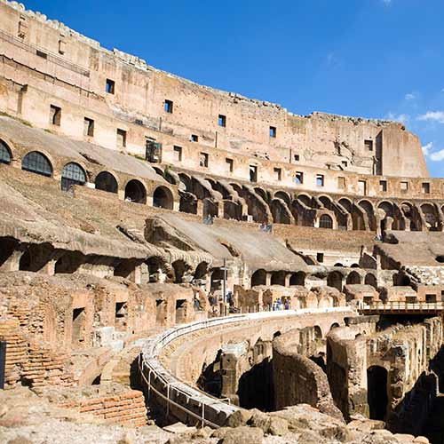 Architecture answer: COLOSSEUM