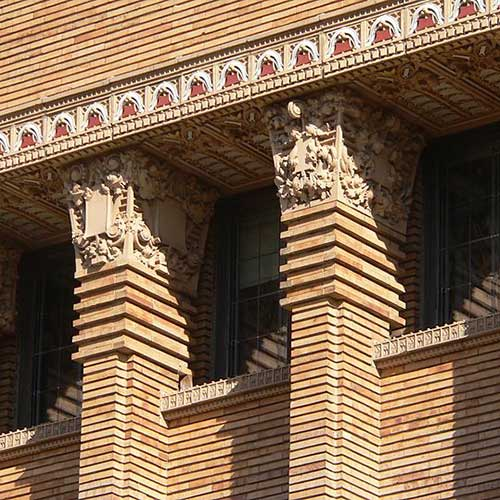 Architecture answer: PILASTERS
