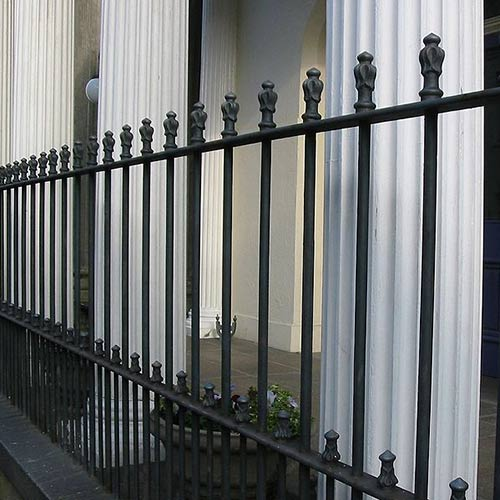 Architecture answer: RAILINGS