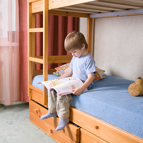 Around the House answer: BUNK BED