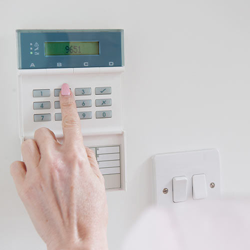 Around the House answer: BURGLAR ALARM