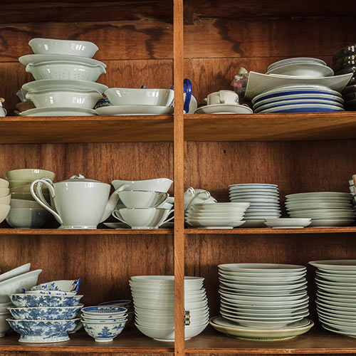 Around the House answer: CROCKERY