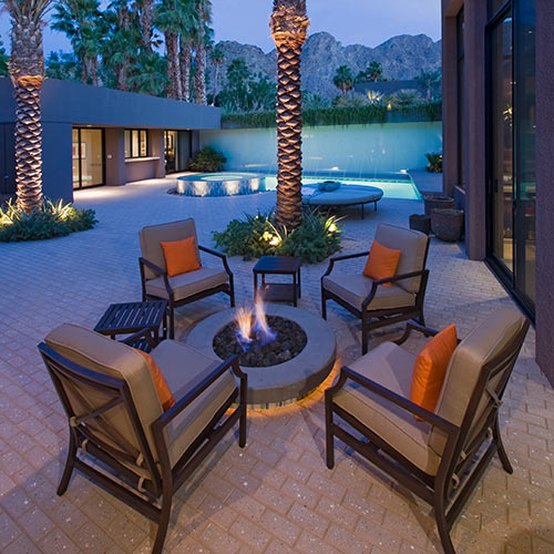 Around the House answer: FIRE PIT