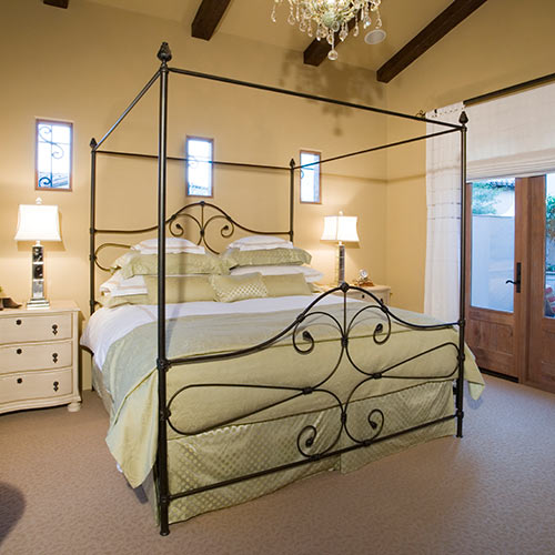 Around the House answer: FOUR POSTER