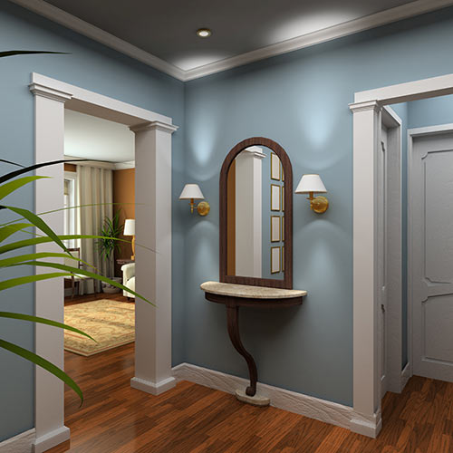 Around the House answer: VESTIBULE