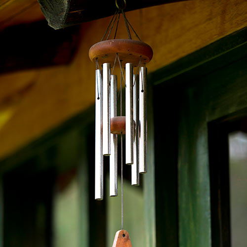 Around the House answer: WIND CHIMES