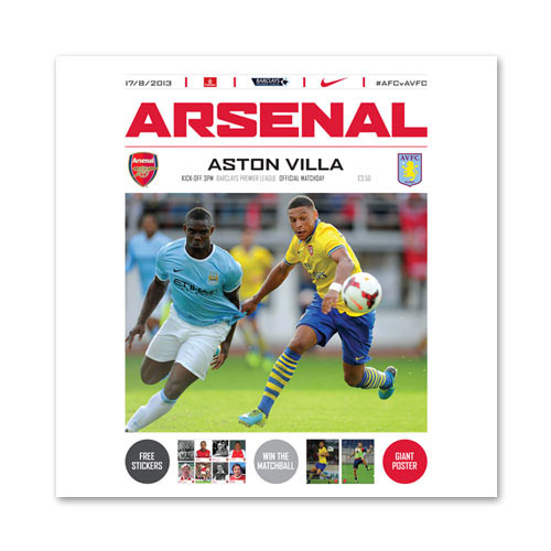 Arsenal FC answer: PROGRAMME