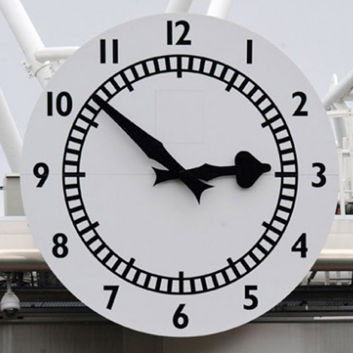Arsenal FC answer: ARSENAL CLOCK