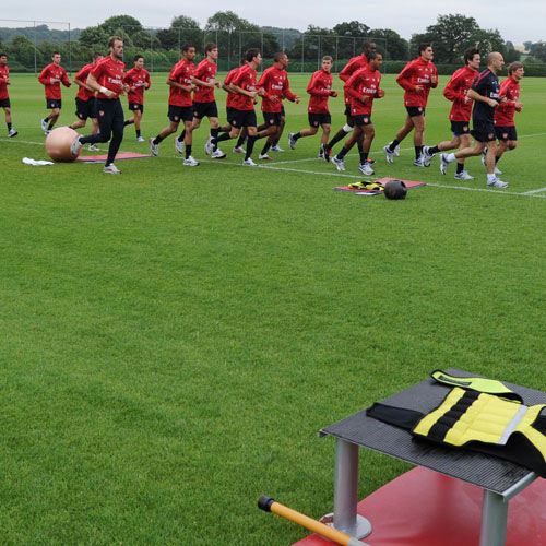Arsenal FC answer: TRAINING GROUND