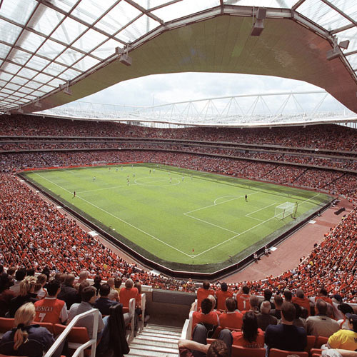 Arsenal FC answer: EMIRATES