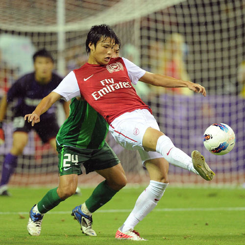 Arsenal FC answer: MIYAICHI