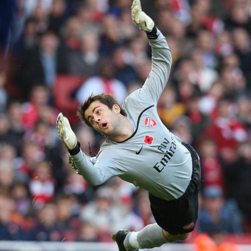 Arsenal FC answer: FABIANSKI