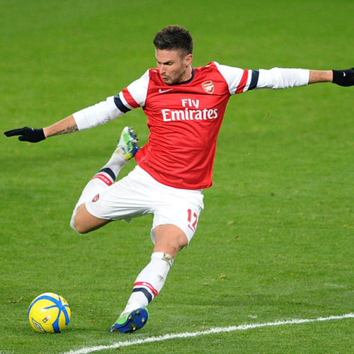 Arsenal FC answer: GIROUD