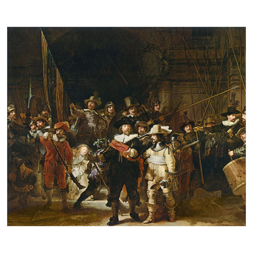 Art answer: REMBRANDT