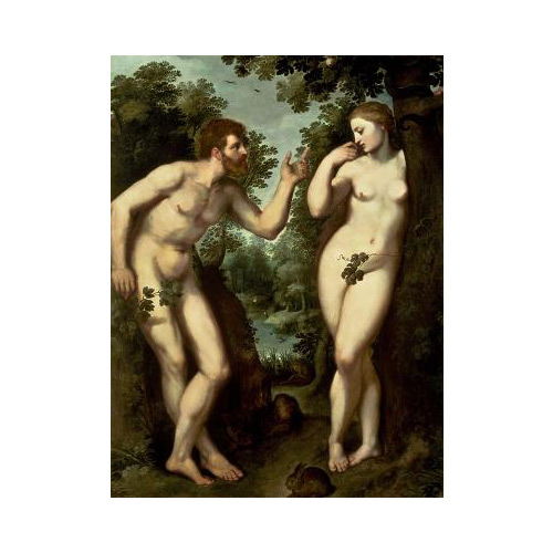 Art answer: ADAM AND EVE