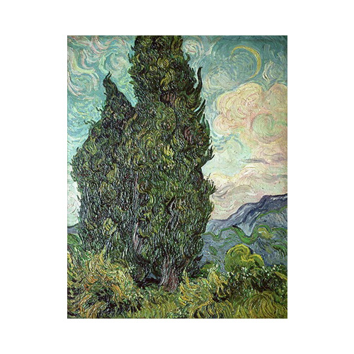 Art answer: CYPRESSES