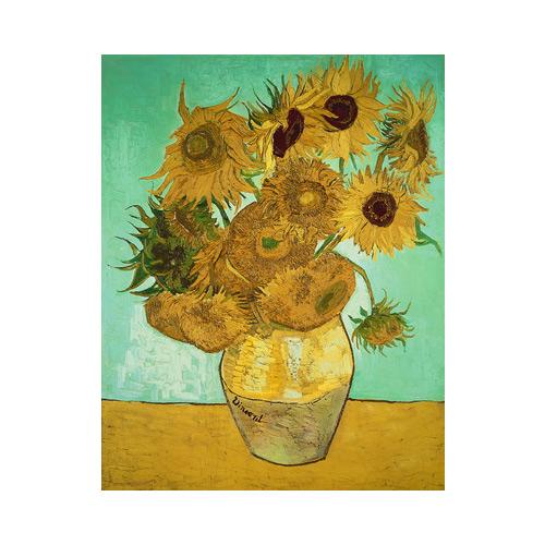 Art answer: SUNFLOWERS